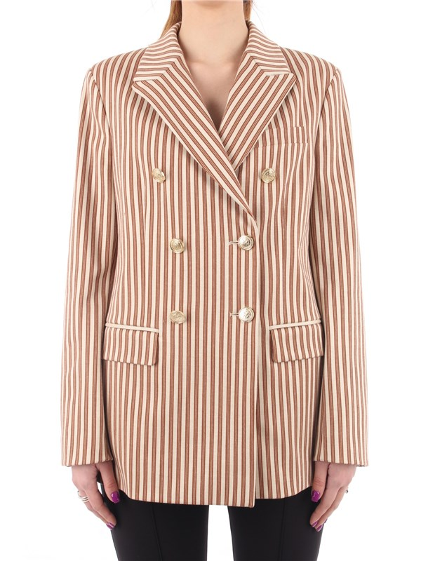 Pinko Blazer Beige / Brown