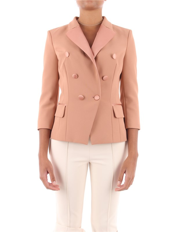 Elisabetta Franchi Jacket Rose gold