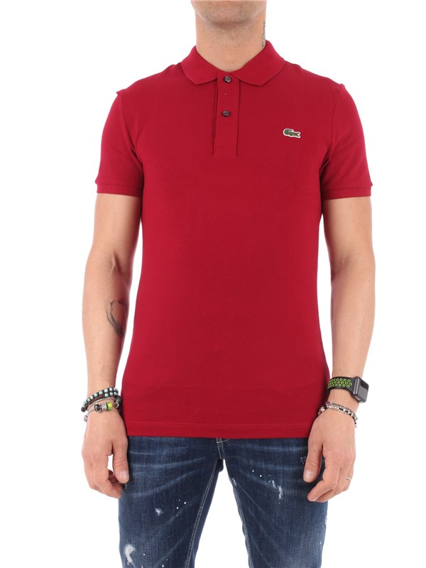 LACOSTE Polo Bordeaux