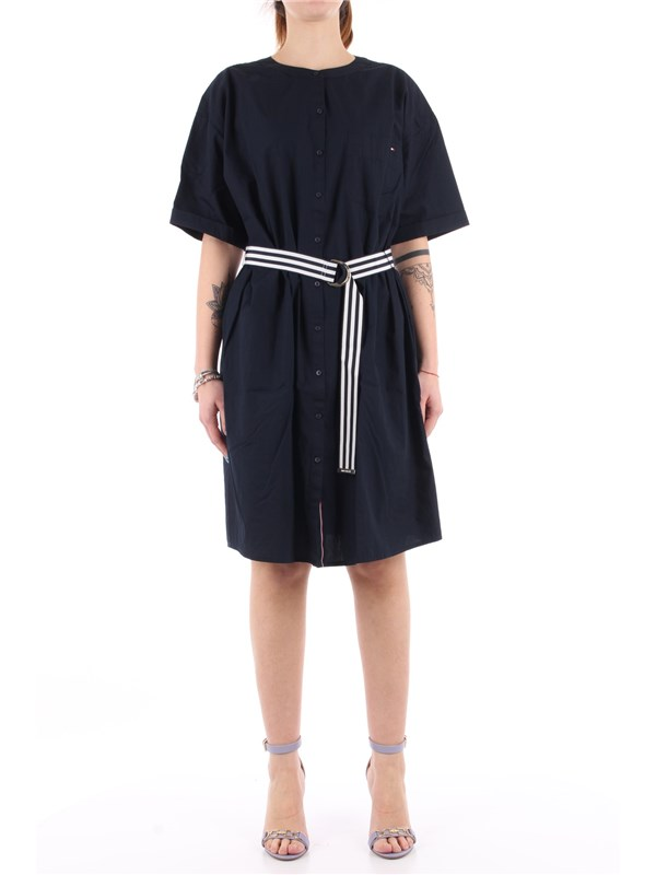 Tommy Hilfiger Chemisier dress Desert sky