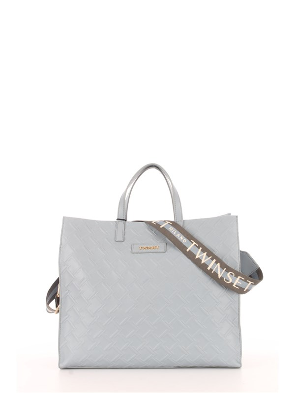 TWINSET Shopping Bag Ash blue