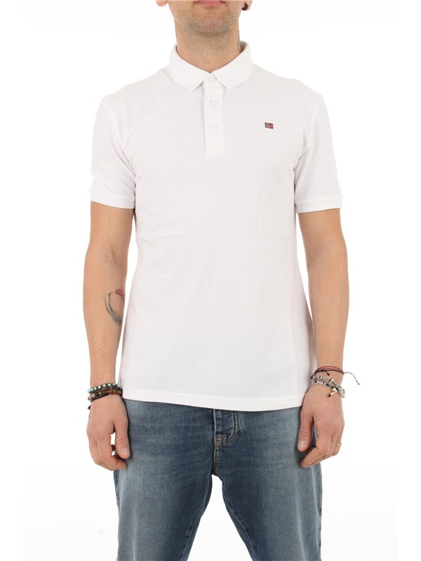 NAPAPIJRI Polo Bright white 002