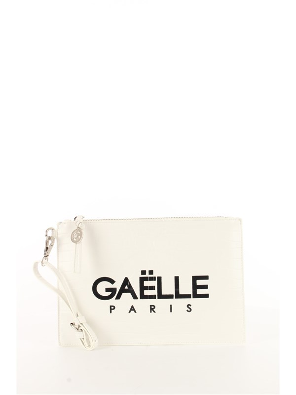 GAëLLE Clutch White