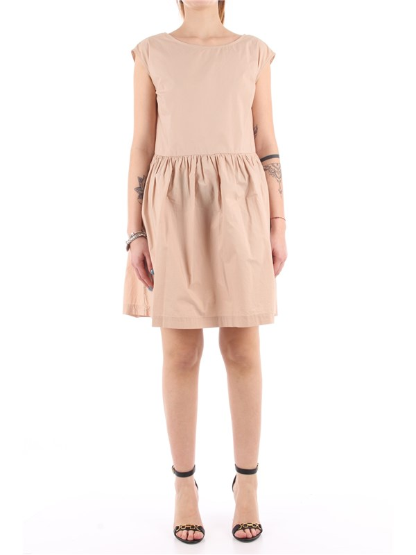 Woolrich Short dress Feather beige