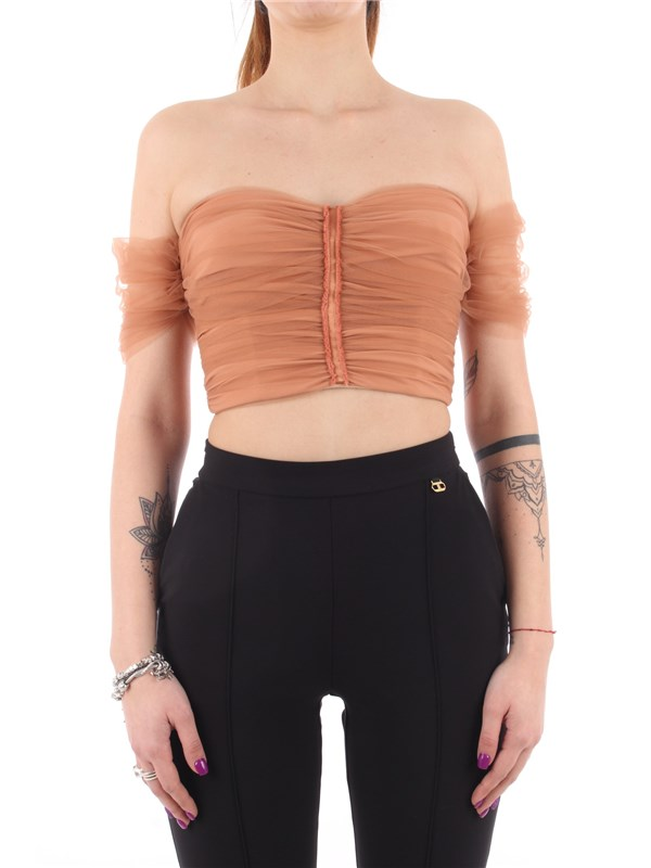 Elisabetta Franchi Top Rose gold