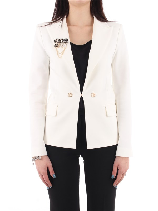 LIU  JO Jacket Star white