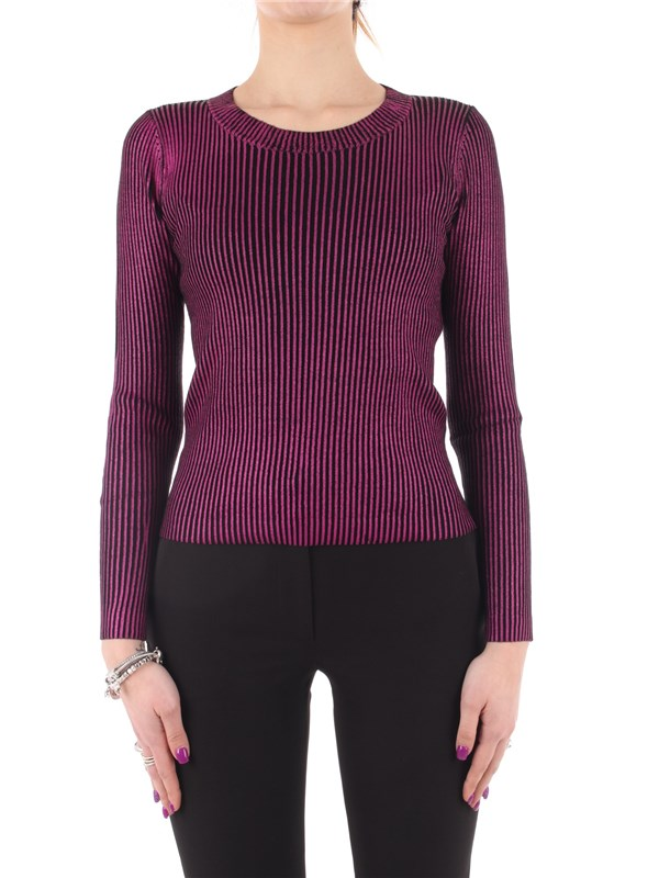 TWINSET Sweater Dark metal fuchsia