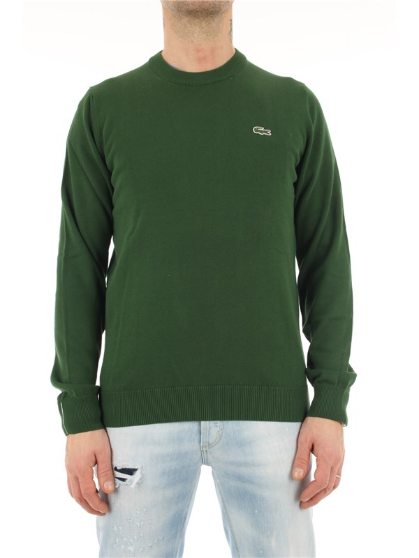 LACOSTE Pullover Green