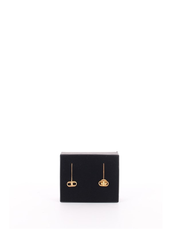 Elisabetta Franchi Earrings Ancient gold