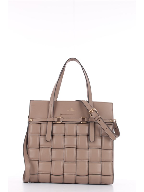 LA CARRIE Shopping Bag Taupe