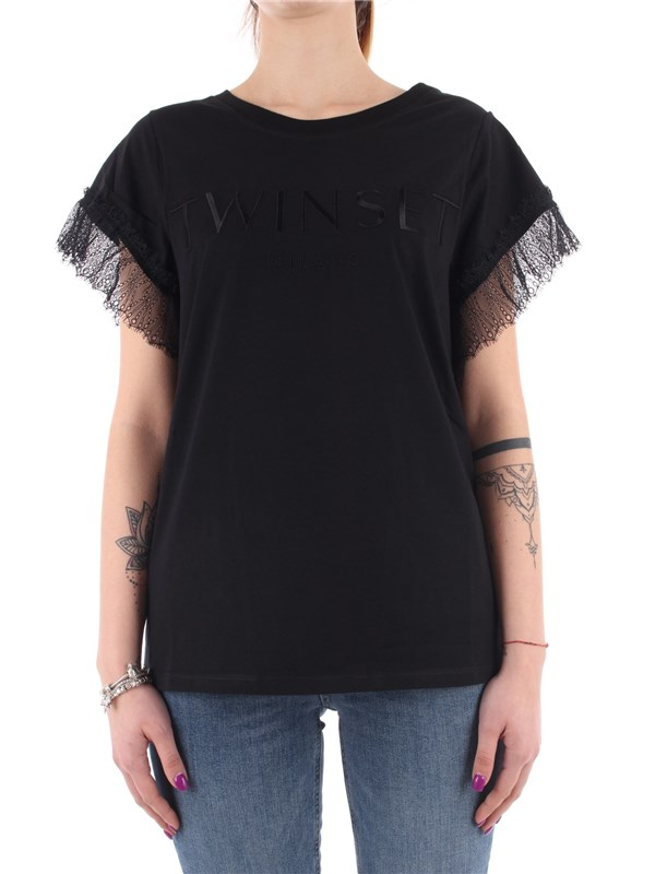 TWINSET T-shirt Black