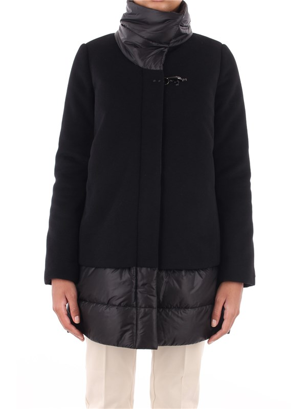 FAY Overcoat Black