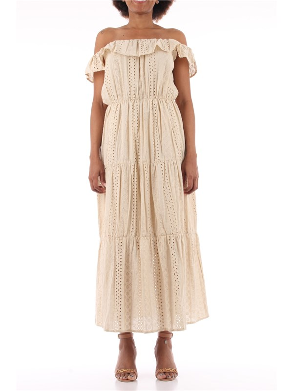 GOA GOA Long dress Natural