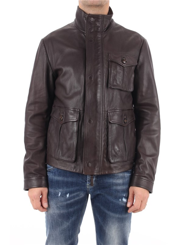 Emporio Armani Coat Brown