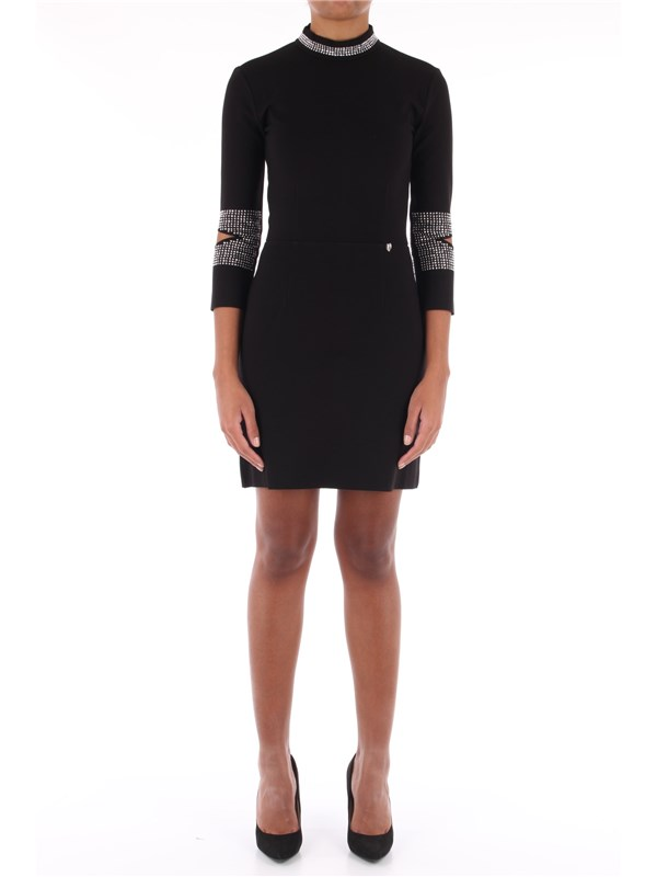 TWINSET Short dress Black