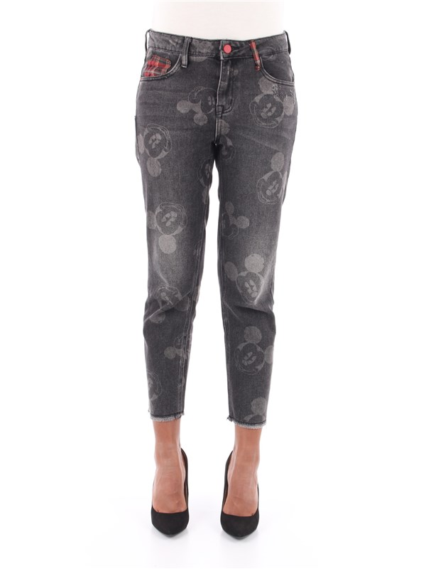 Desigual Jeans Black wash denim