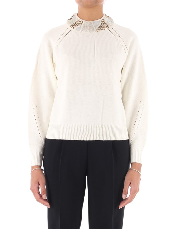 NENETTE Sweater Snowy white