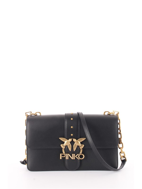 Pinko Pelletteria Shoulder bag Black