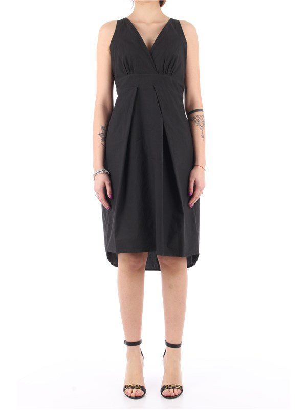 Manila Grace Short dress Black