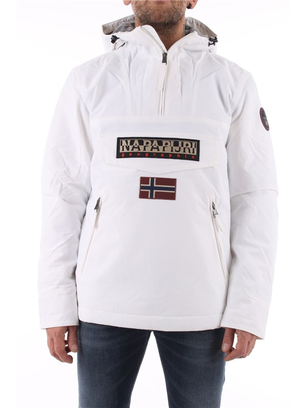 NAPAPIJRI Coat Bright white 002