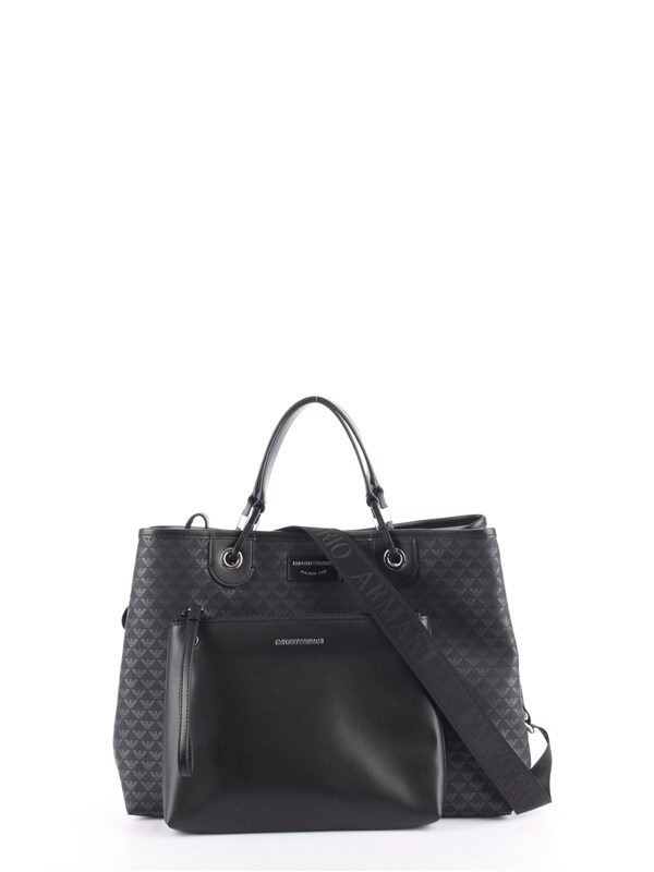 Emporio Armani Shopping Bag Black / black