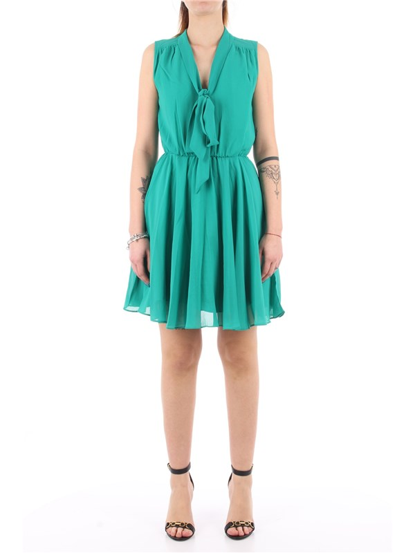 Molly Brachen Short dress Emerald green