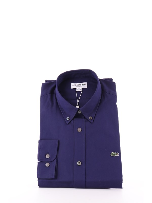LACOSTE Shirt Navy blue
