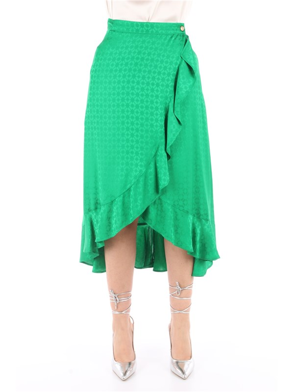 Pinko Skirt Green