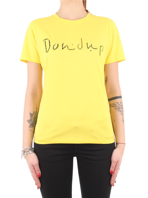 DONDUP T-shirt Yellow