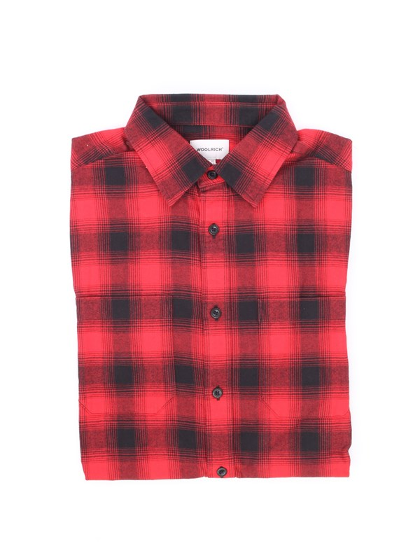 Woolrich Shirt Red check