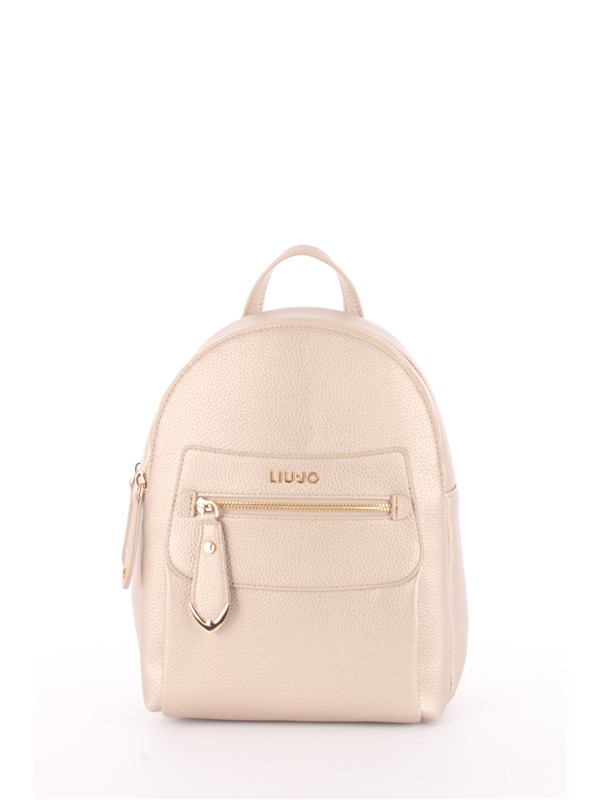 LIU  JO Backpack Light gold
