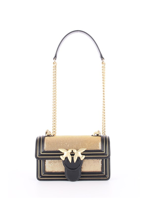 Pinko Shoulder bag Black / Gold