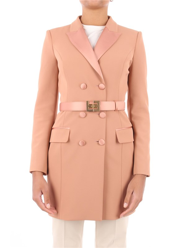 Elisabetta Franchi Short dress Rose gold