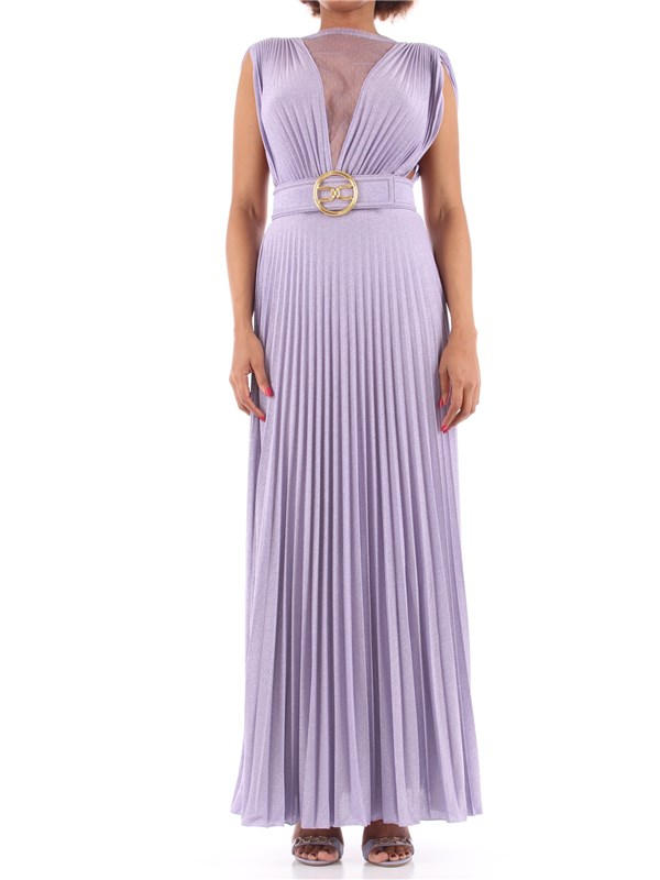 Elisabetta Franchi Long dress Lavender