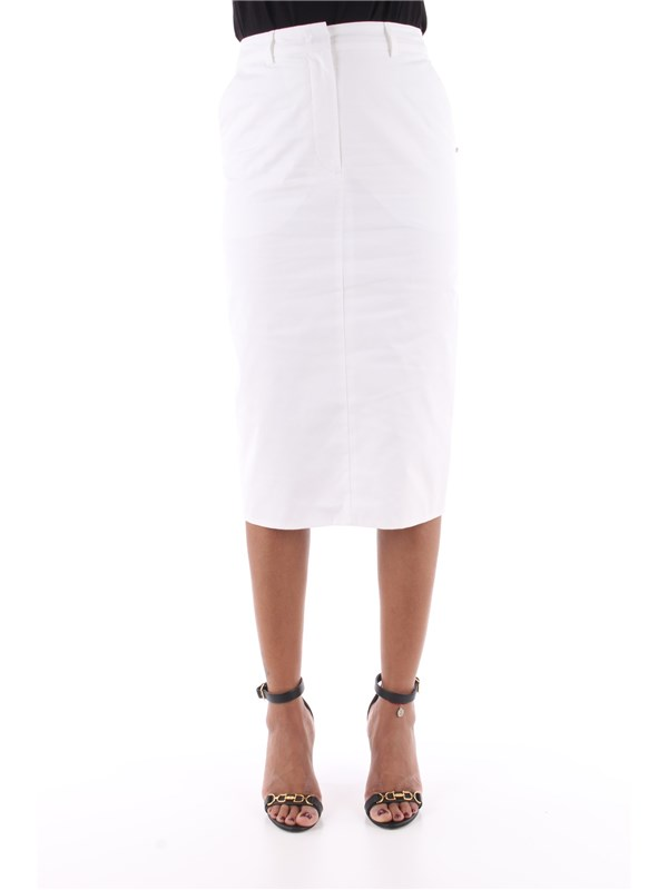 Sportmax Code Skirt White