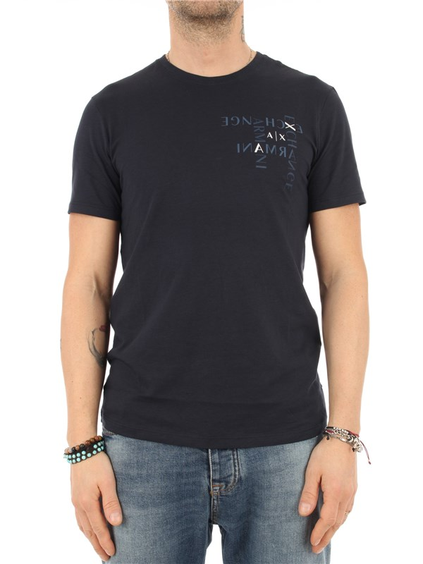 Armani Exchange T-shirt Navy