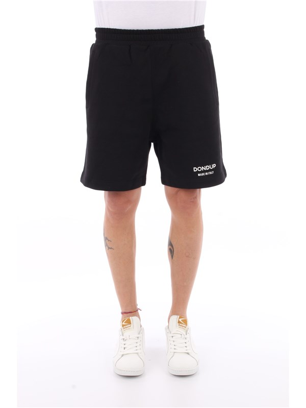 DONDUP Bermuda shorts Black